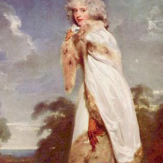 엘리자베스 패런(후일 더비 백작부인)의 초상