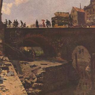 어느 프랑스 도시의 다리