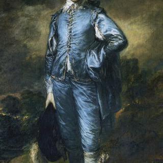 파란 옷을 입은 소년 (조너선 버톨의 초상)