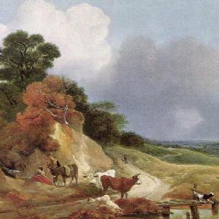 코너드 마을이 있는 풍경