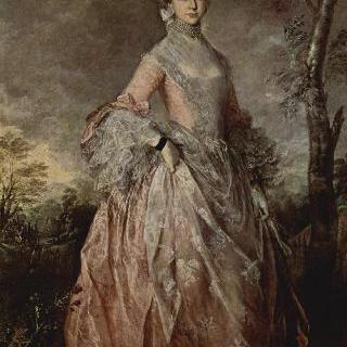 하우 백작부인 메리의 초상