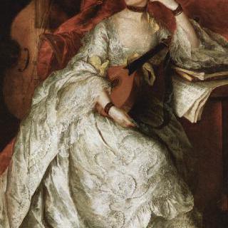 앤 포드 (후일 필립 시크니스 부인)의 초상