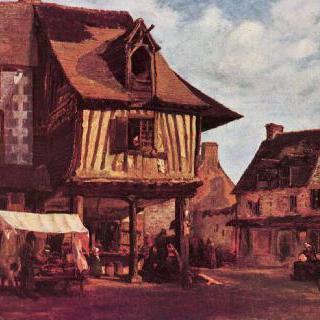 노르망디의 시장