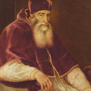 교황 바오로 3세의 초상