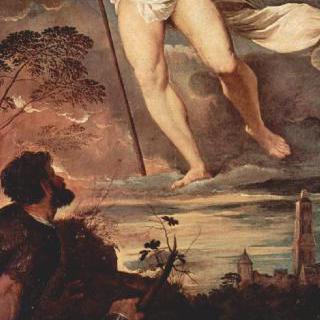 그리스도의 부활, 중앙 패널 : 그리스도의 부활