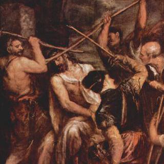 가시면류관을 쓰는 그리스도