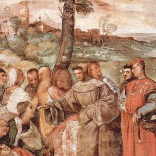 파도바의 성 안토니우스의 기적 : 맞아서 부러진 다리를 치유한 기적