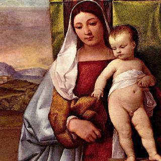마리아와 아기 예수 (집시의 성모)