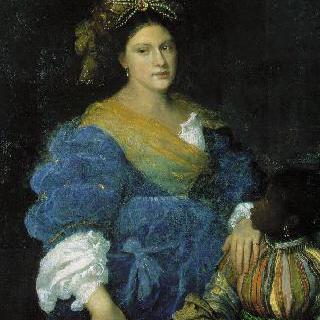 라우라 데 디안티의 초상
