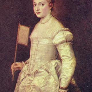 하얀 옷을 입은 여인의 초상