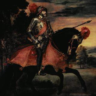 황제 카를 5세의 기마상