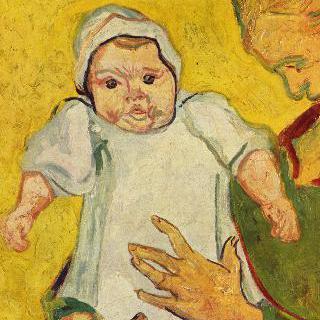 오귀스틴 룰랭과 그녀의 아기