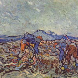 일하는 농부들