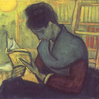 소설 읽는 여인
