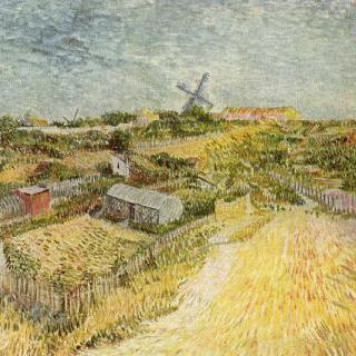 몽마르트르 언덕 (몽마르트르의 채소밭)