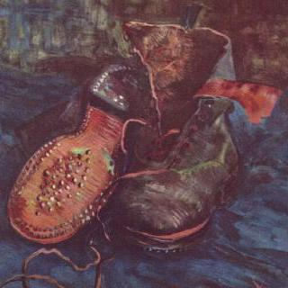 정물, 신발
