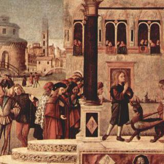 고르디아누스 황제의 딸을 마귀에게서 풀어주는 프리기아의 성 트리폰