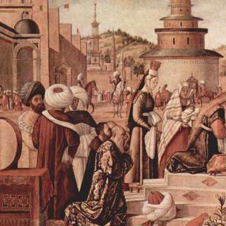 이교도들에게 세례를 주는 성 게오르기우스