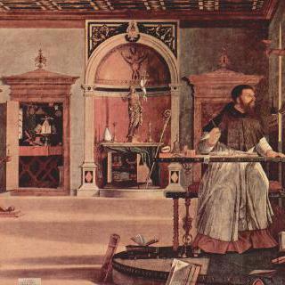 성 아우구스티누스의 비전