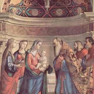 성전에 봉헌되는 예수