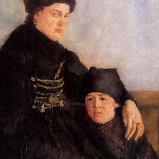 다하우의 여인과 아이