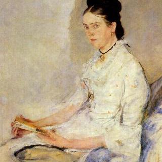 트로이베르크 백작부인 로지네 피슐러의 초상