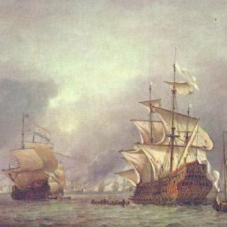 로열 프린스호의 나포, 1666년 6월 13일