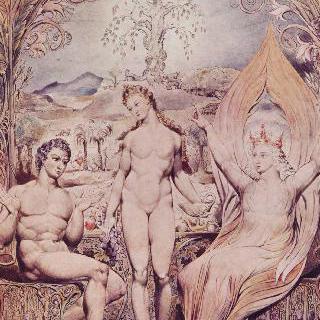 대천사 라파엘과 아담과 이브