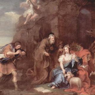 셰익스피어의 템페스트 : 프로스페로와 미란다