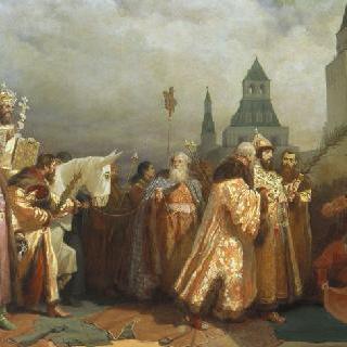 그리스도 고난 주일을 맞은, 알렉세이 미하일로비치 황제 시대의 모스크바