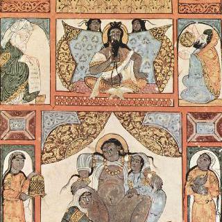 알 하리리의 마카마트 (문학 모임) : 출산 시간 (39번째 마카마트)
