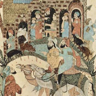 알 하리리의 마카마트 (문학 모임) : 마을 부근에서의 상의 (43번째 마카마트)