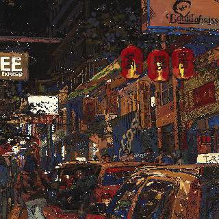 홍콩 밤-소호