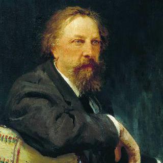 작가 알렉세이 콘스탄티노비치 톨스토이의 초상
