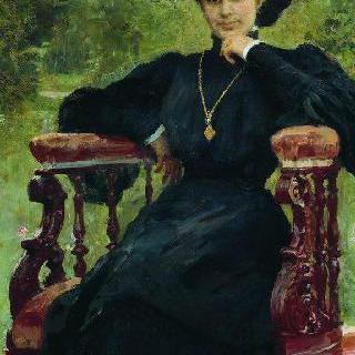 여배우 마리야 표도로브나 안드레예바의 초상