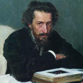 작곡가 및 언론인 파벨 이바노비치 블라람베르크의 초상