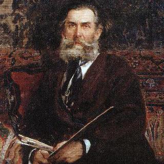 화가 알렉세이 페트로비치 보골류보프의 초상
