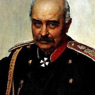 장군 및 정치가 미하일 이바노비치 드라고미로프의 초상