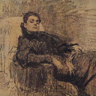 여배우 엘레오노라 두세의 초상