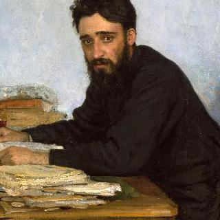 작가 브세볼로트 미하일로비치 가르신의 초상