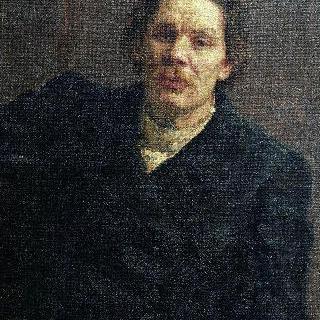 작가 막심 고리키 (알렉세이 막시모비치 페시코프)의 초상