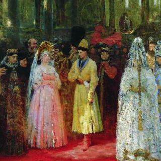 황태자를 위한 신부 간택