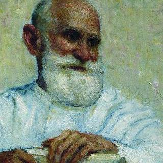 생리학자 이반 페트로비치 파블로프의 초상