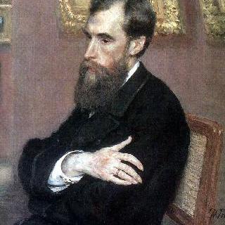 미술관 설립자, 파벨 미하일로비치 트레차코프의 초상
