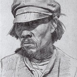 칼미크족 남자의 초상