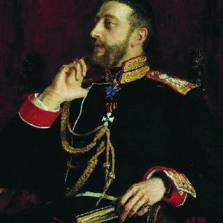 시인 콘스탄틴 콘스탄티노비치 로마노프 대공의 초상