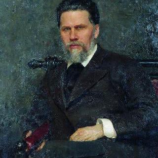 화가 이반 니콜라예비치 크람스코이의 초상