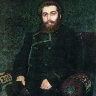 화가 아르히프 이바노비치 쿠인지의 초상
