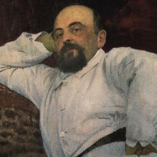 철도왕 및 예술후원자 사바 이바노비치 마몬토프의 초상