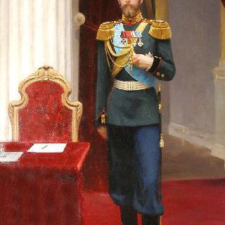 황제 니콜라이 2세의 초상